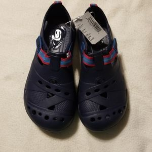 NWT, Children's Place crocs, Navy blue, youth 1